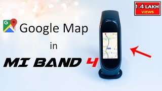 Google Maps in Mi Band 4 ||Free Pro version Notify and Fitness App||🔥