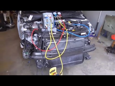 How To Recover R134a Refrigerant From A Car