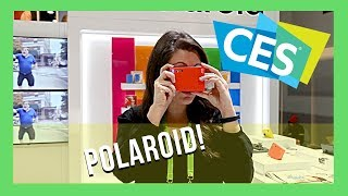 CES 2019 Polaroid Mint Shoot & Print Instant Camera