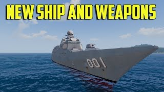 ARMA 3 - New Ship and Weapons