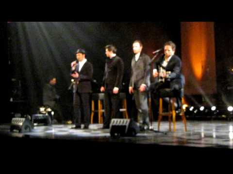 The Canadian Tenors - Hallelujah (Live @ Roermond, the Netherlands)