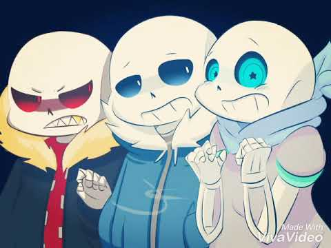 Blueberry Sans AMV(Music Video)Discord(The Living Tomstone)
