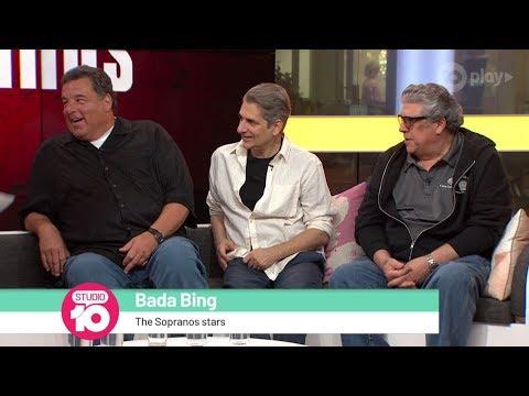 Steve Schirripa, Michael Imperioli & Vincent Pastore Talk 'The Sopranos'   Studio 10