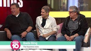 Steve Schirripa, Michael Imperioli & Vincent Pastore Talk 'The Sopranos' | Studio 10