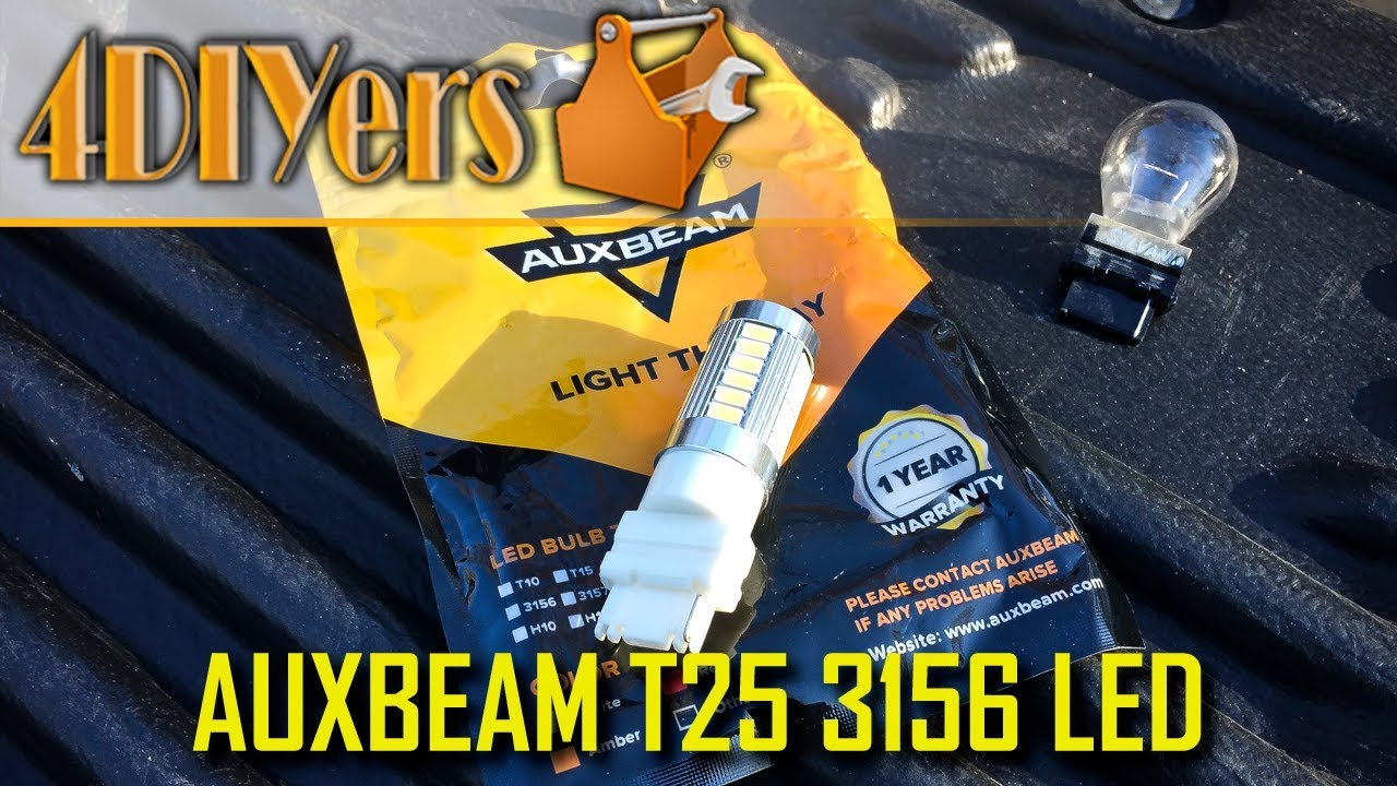 Download Review: Auxbeam T25 3156 LED Bulbs