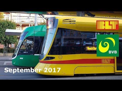 Trams in Basel, Switzerland