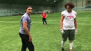 Helsinki Roosters coaches in action