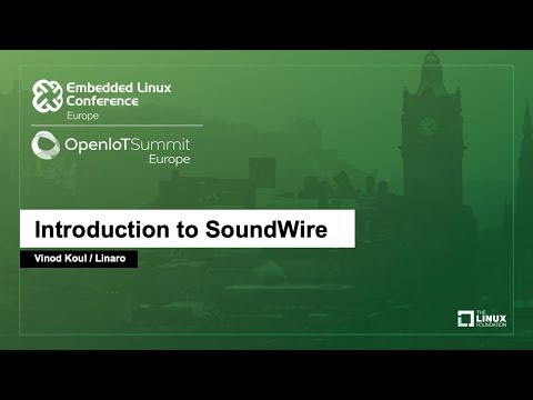 Introduction to SoundWire - Vinod Koul, Linaro