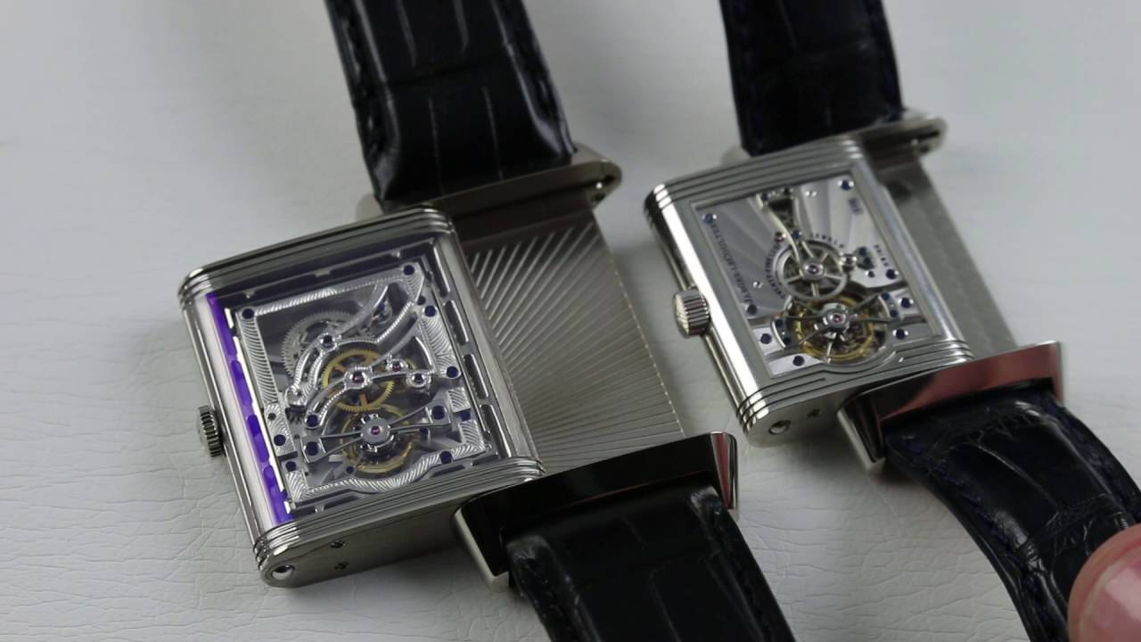 742ded04ee Which Watch? Jaeger-LeCoultre Reverso Tourbillons Compared - YouTube