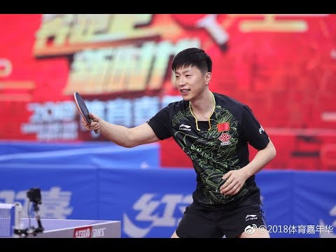 201802 Ma Long in Chinese New Year Sports Gala