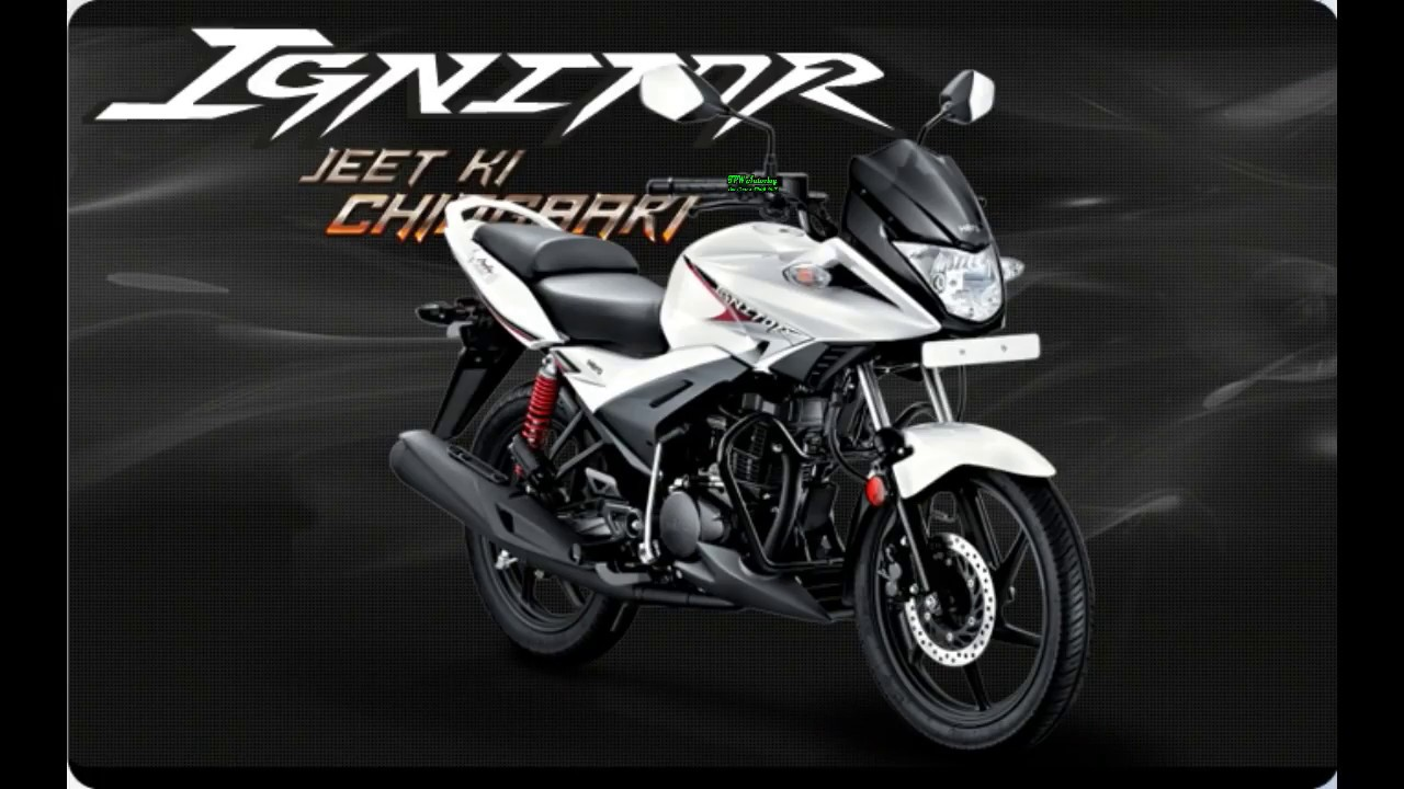 Hero All New Hero Ignitor 2017 Specification Walkaround Top
