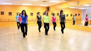 Hit The Floor - Line Dance (Dance & Teach in English & 中文)