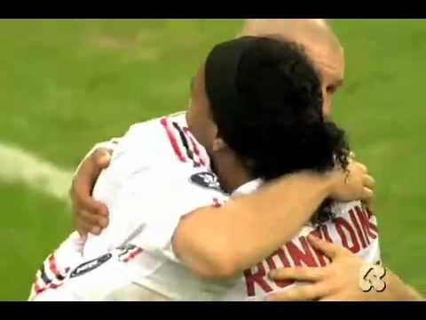 Ronaldinho - Ac Milan Vs Sporting Braga