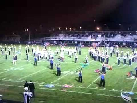 West & East Leyden High School Marching Band 2011