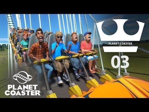 Jirka Hraje - Planet coaster 03 - Custom stavby