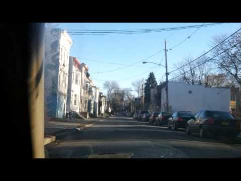 Ghettoes in Albany, New York, America. Autumn 2016.
