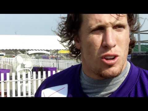 Vikings Training Camp 2011: LB Chad Greenway