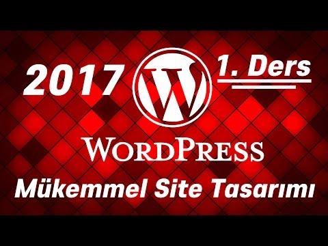 WORDPRESS MÜKEMMEL WEB TASARIMI 1 (Wordpress Dersleri, Web Tasarımı)