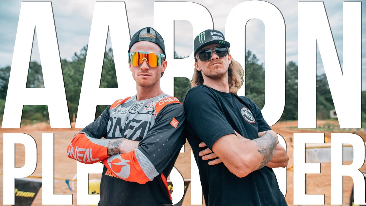 Is Aaron Plessinger the coolest guy in Supercross? || Class with AP7 at Scrubndirt Mx in Georgia