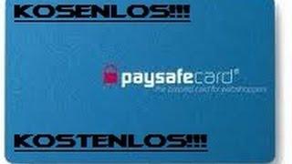 paysafecard guthaben aufladen kostenlos