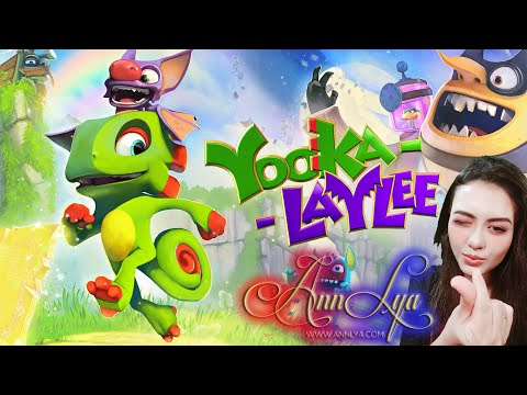 Yooka Laylee And The Impossible Lair - Starting Game |