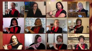 The Austin Flute Choir presents Little Fugue by Bach
