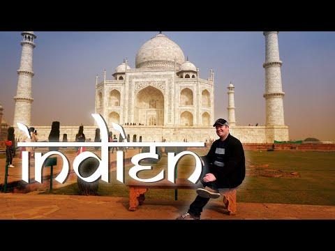 Indien - Als Backpacker zu den touristischen Highlights (1/3)   Reise Doku
