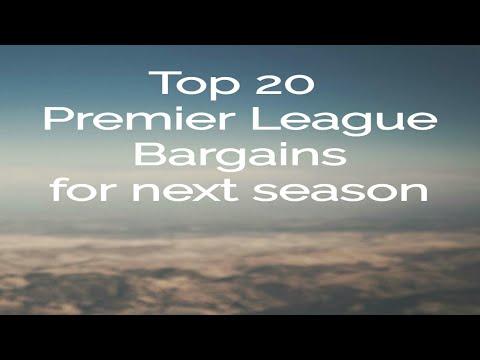 TOP 20 PREMIER LEAGUE TRANSFER BARGAINS FOR NEXT SEASON. ASMR FOOTBALL PODCAST