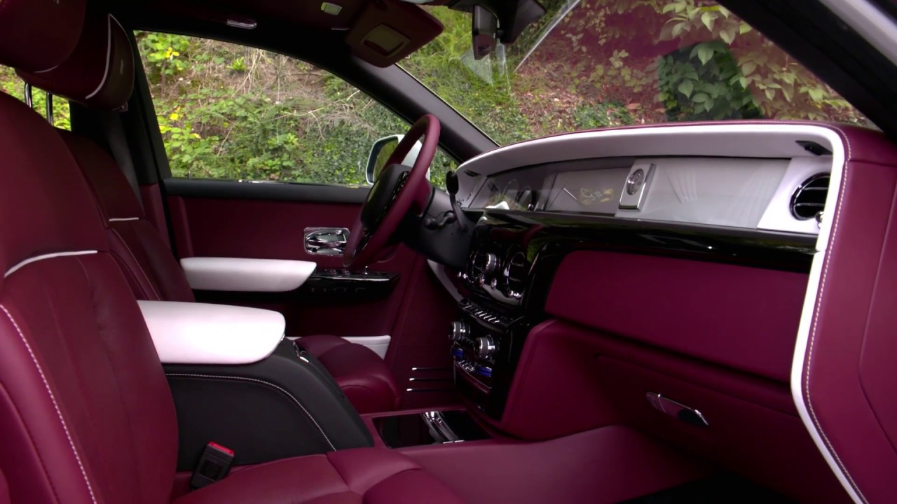 The New Rolls Royce Phantom Interior Design