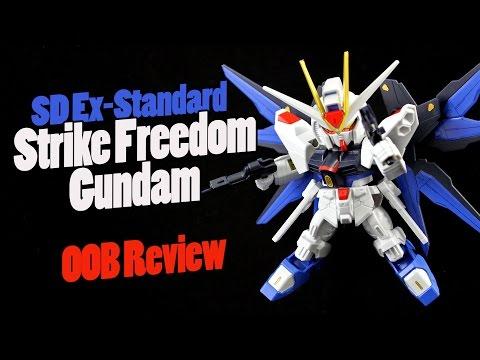 461 - SD Ex-Standard Strike Freedom Gundam OOB Review