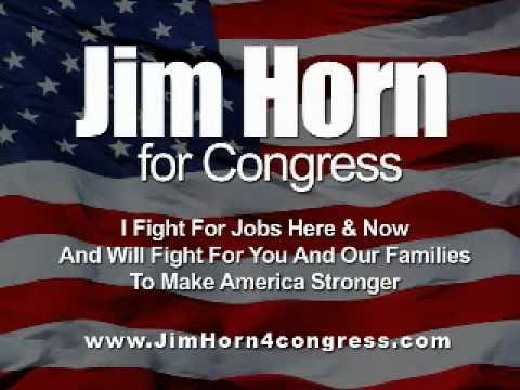 Jim Horn For Congress & The Talking Horse