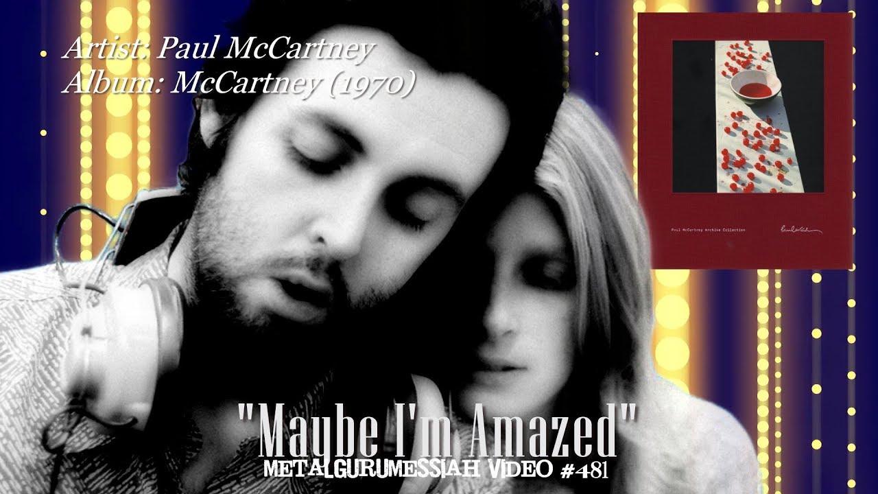 Maybe I'm Amazed - Paul McCartney (1970) 96KHz/24bit FLAC HD Video