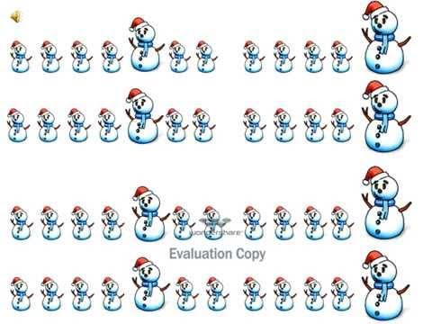 Музыкально-дидактическая игра Волшебная посылка Деда Мороза (Зимушка хрустальная -ритм)