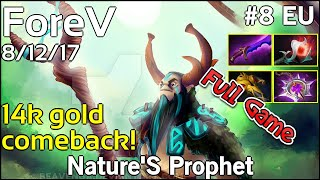 Support ForeV Nature#39S Prophet - Dota 2 Full Game 7.17