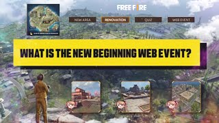 What Is The New Beginning Web Event? | Garena Free Fire