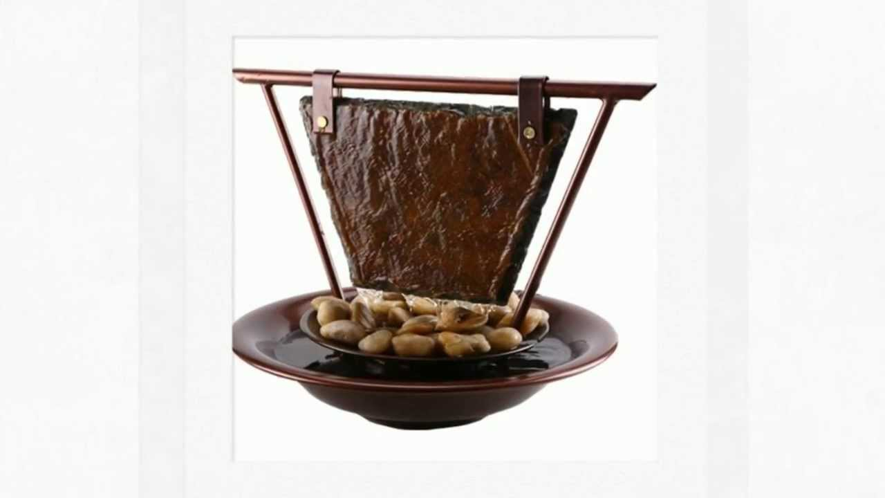 Tabletop Water Fountains At SoothingWalls.com   YouTube