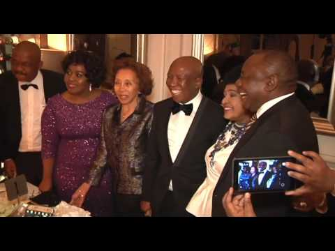 Deputy President Cyril Ramaphosa addresses Mama Winnie Madikizela Mandela's 80th Birthday Dinner