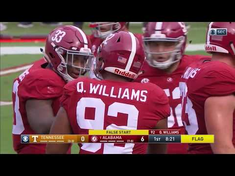 2017 Tennessee vs. 1 Alabama HD