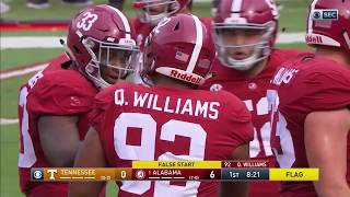 2017 Tennessee vs. #1 Alabama (HD)