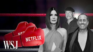 Netflix's Hollywood Rivals Are Spoiling for a Fight