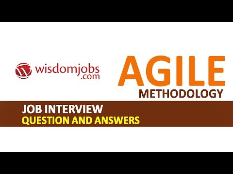 TOP 250+ Agile Methodology Interview Questions and Answers 08 August