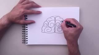 How to Draw - Brain