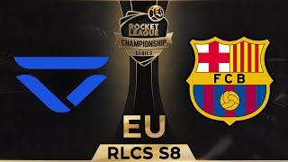 Veloce vs fc barcelona - rlcs season 8 eu week 4