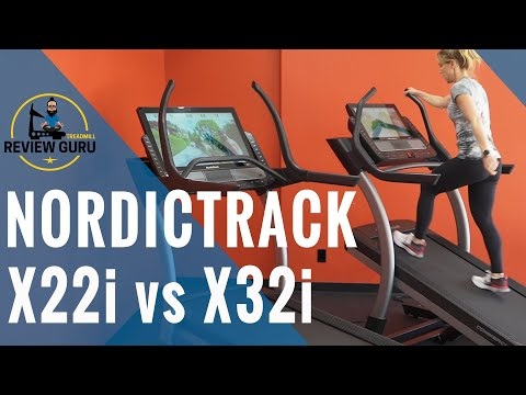 NordicTrack X22i vs X32i Incline Treadmill Comparison Review