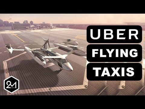 5 Things You Should Know About UBER Flying Taxis