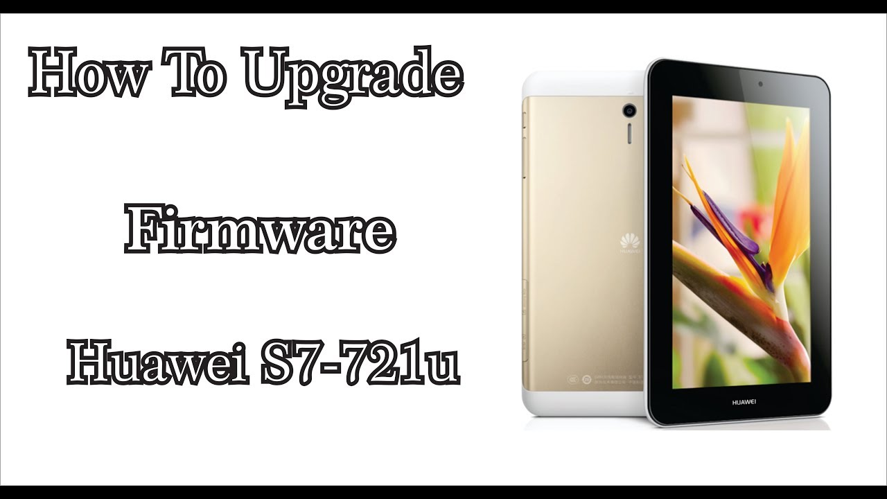 How To Flash Huawei Mobile S7-721u By How To Solution