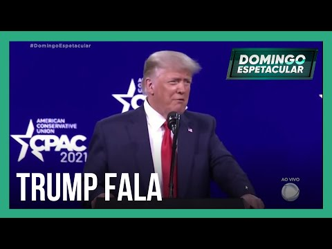 Ex-presidente Donald Trump faz primeiro discurso após deixar a Casa Branca