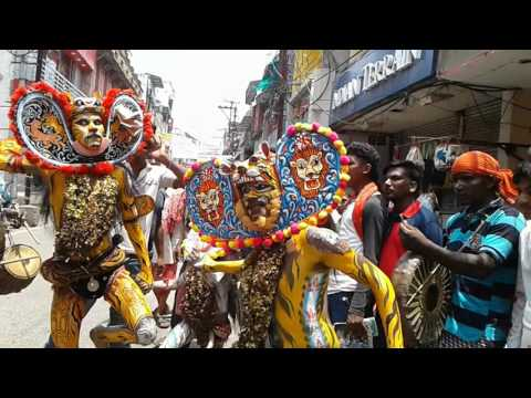 Bagha nacha (tiger dance) of berhampur