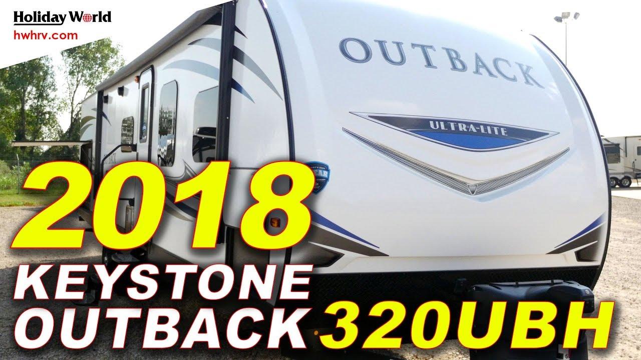 2018 Keystone Outback 320ubh Travel Trailer Holiday World Rv