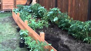 Building A Raised Garden Bed - Part 2